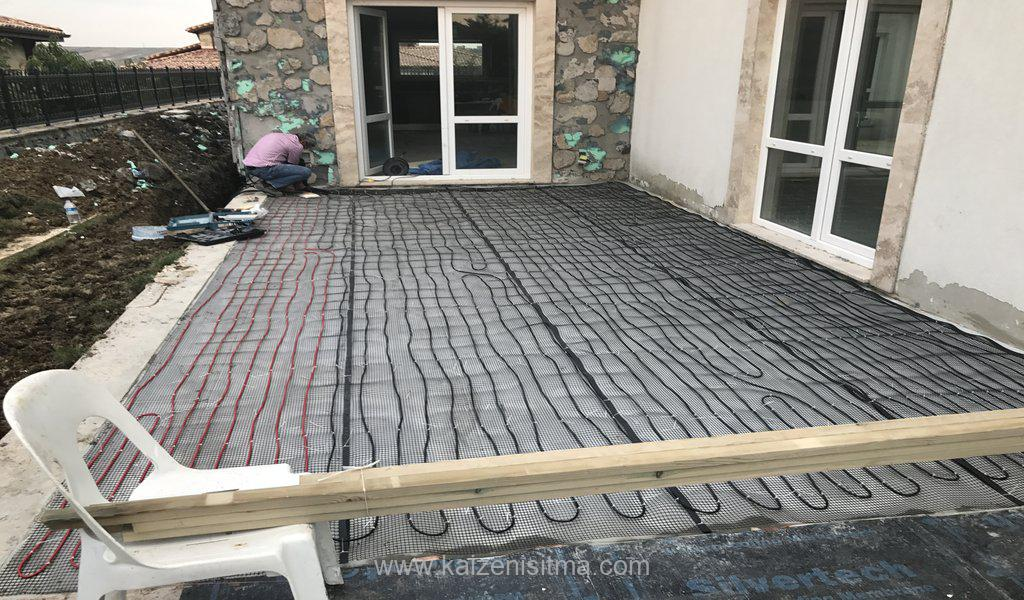 Electrical terrace underfloor heating solutions underfloor heating - Electrical underfloor heating for terrace - Kaizen electrical underfloor heating solutions