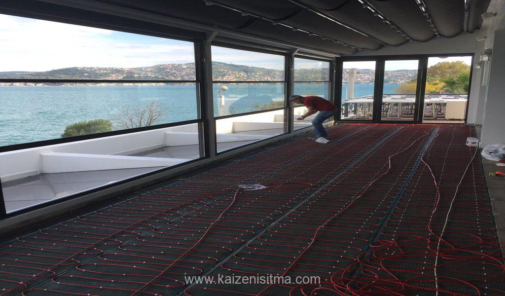 terrace electrical underfllor heating solutions underfloor heating - Terrace heating solutions - Kaizen electrical underfloor heating solutions